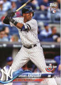 2018 Topps Opening Day #137 Miguel Andujar RC Rookie Card Yankees