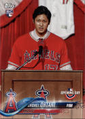 2018 Topps Opening Day #200 Shohei Ohtani NM-MT RC Angels