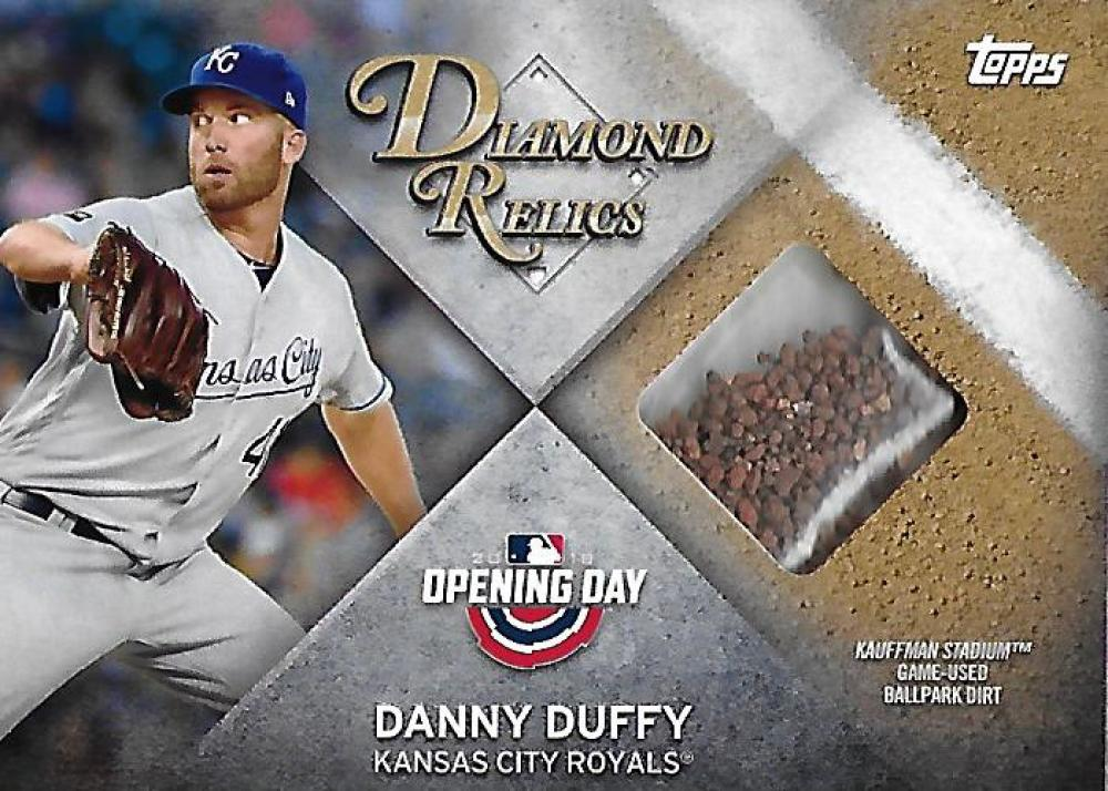 2018 Topps Opening Day Diamond Relics