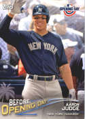 2018 Topps Opening Day Before Opening Day #BOD-AJ Aaron Judge New York Yankees