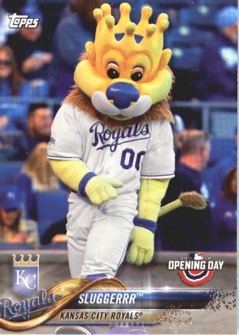 2018 Topps Opening Day Mascots