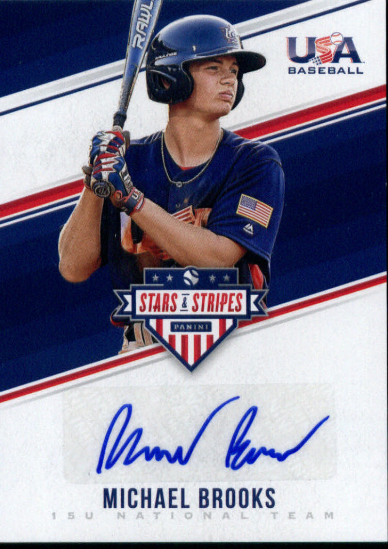 2018 Panini Stars and Stripes 15U National Team Signatures