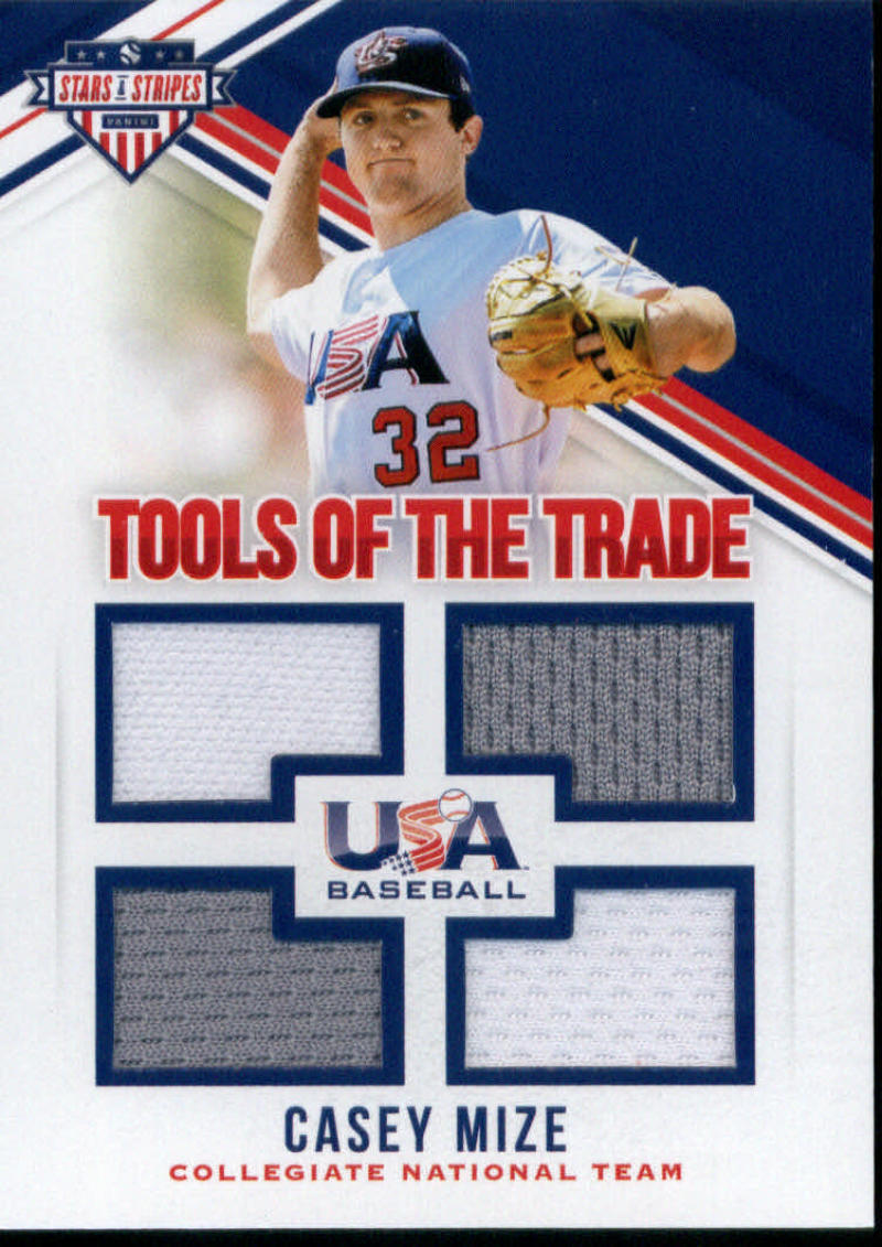 2018 Panini Stars and Stripes Tools of the Trade