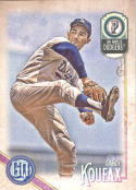 2018 Topps Gypsy Queen #320 Sandy Koufax NM-MT SP Dodgers