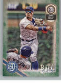 2018 Topps Gypsy Queen Green #278 Javier Baez Chicago Cubs Baseball Card