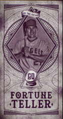 2018 Topps Gypsy Queen Fortune Teller Minis #FTM-20 Mike Trout NM-MT Angels