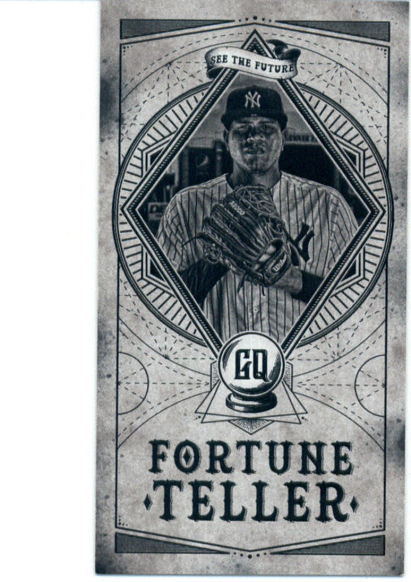 2018 Topps Gypsy Queen Fortune Teller Minis Black