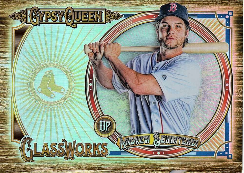 2018 Topps Gypsy Queen GQ Glassworks Box Toppers