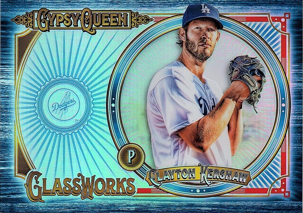 2018 Topps Gypsy Queen GQ Glassworks Box Toppers Indigo