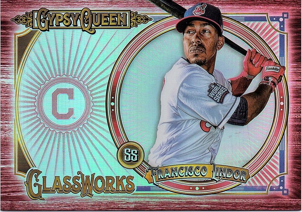 2018 Topps Gypsy Queen GQ Glassworks Box Toppers Red