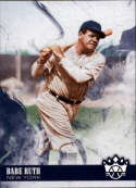 2018 Panini Diamond Kings #1 Babe Ruth New York Yankees Baseball Card
