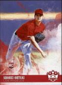 2018 Panini Diamond Kings #73 Shohei Ohtani Los Angeles Angels RC Rookie Baseball Card