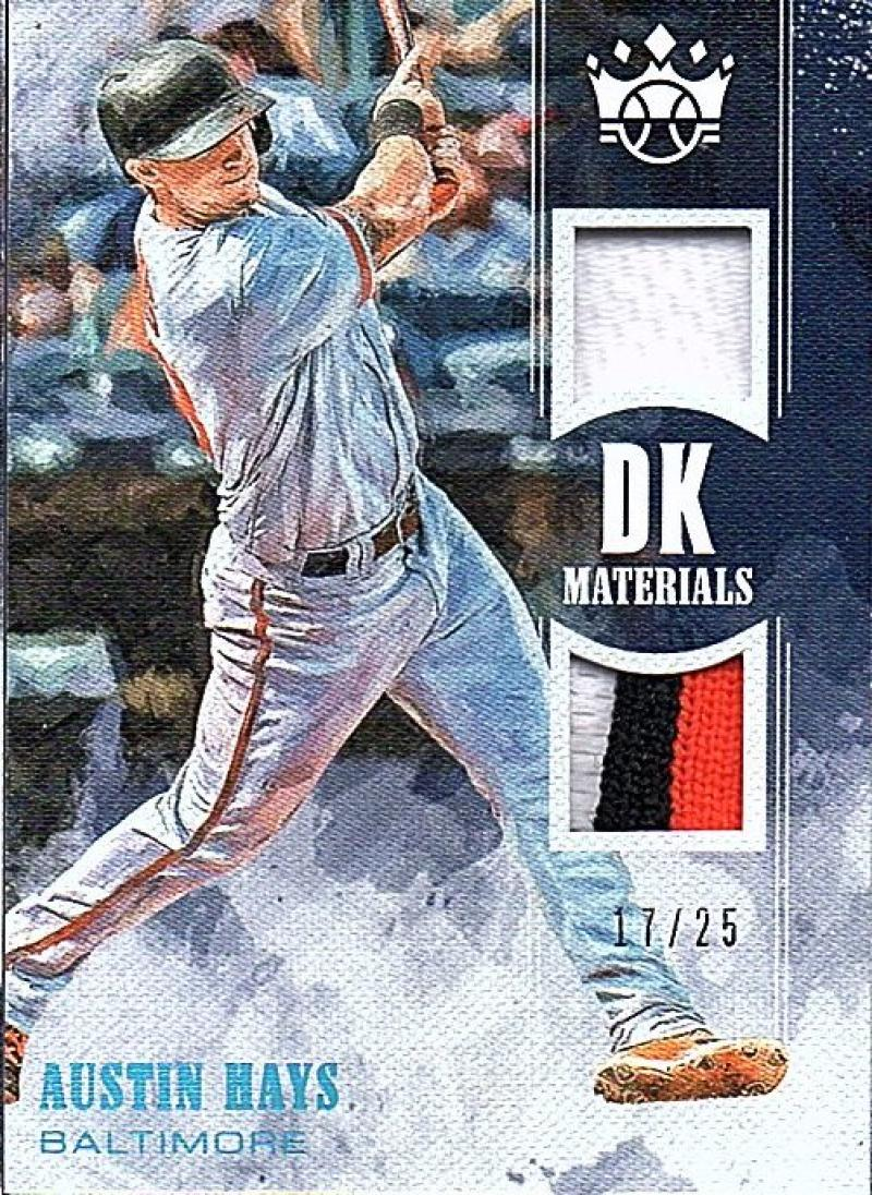 2018 Panini Diamond Kings DK Materials Holo Blue