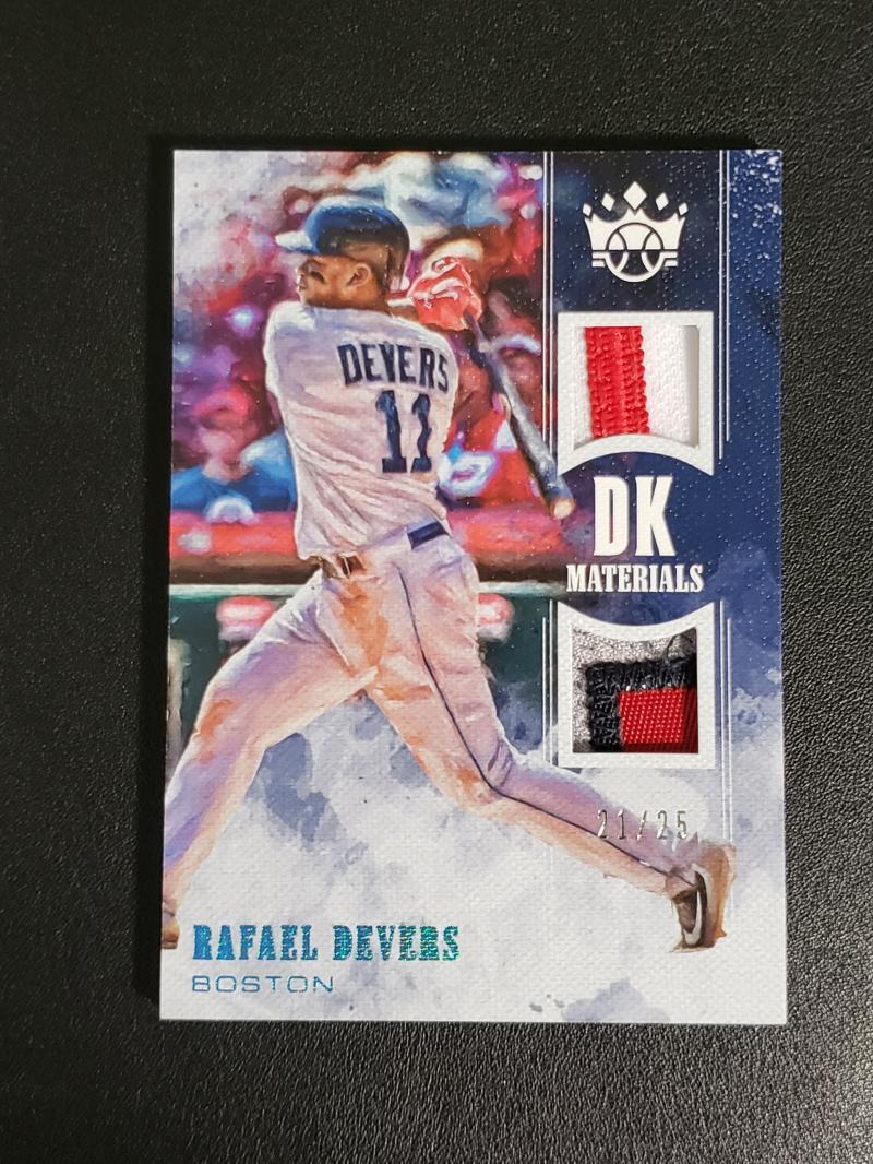 2018 Panini Diamond Kings DK Originals Materials Holo Blue