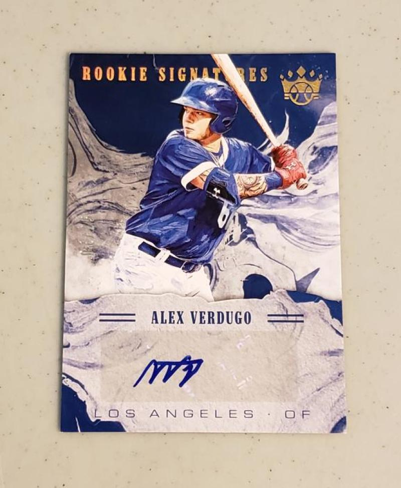 2018 Panini Diamond Kings DK Rookie Signatures Holo Gold