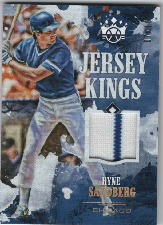 2018 Panini Diamond Kings Jersey Kings Holo Gold