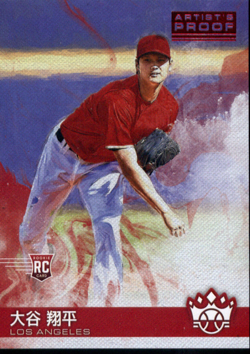 2018 Panini Diamond Kings Name Variations Artist Proof Red
