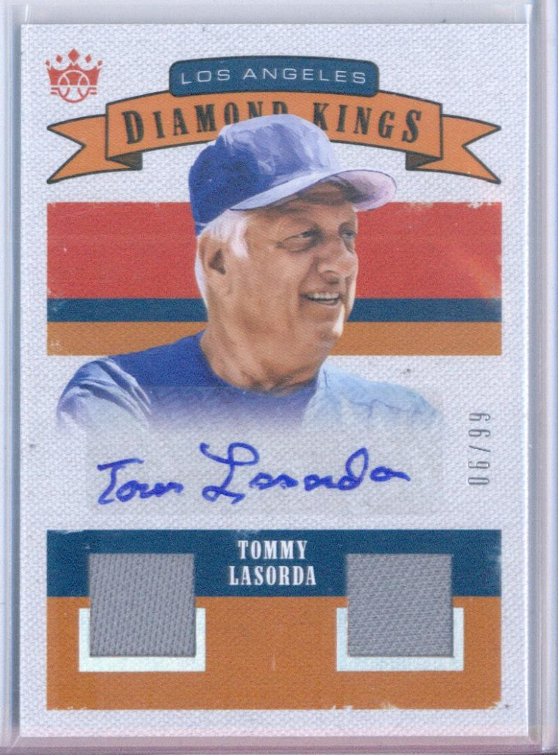 2018 Panini Diamond Kings Retro 1982 DK Materials Signatures