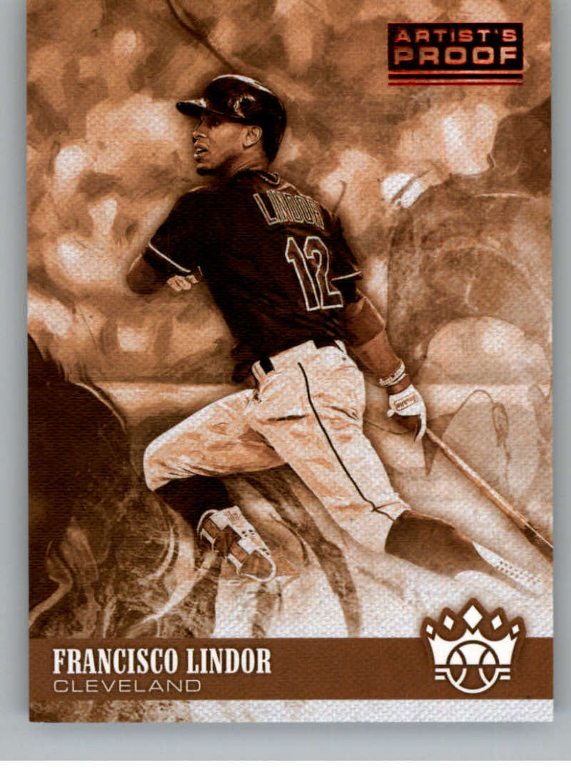 2018 Panini Diamond Kings Sepia Variations Artist Proof Red