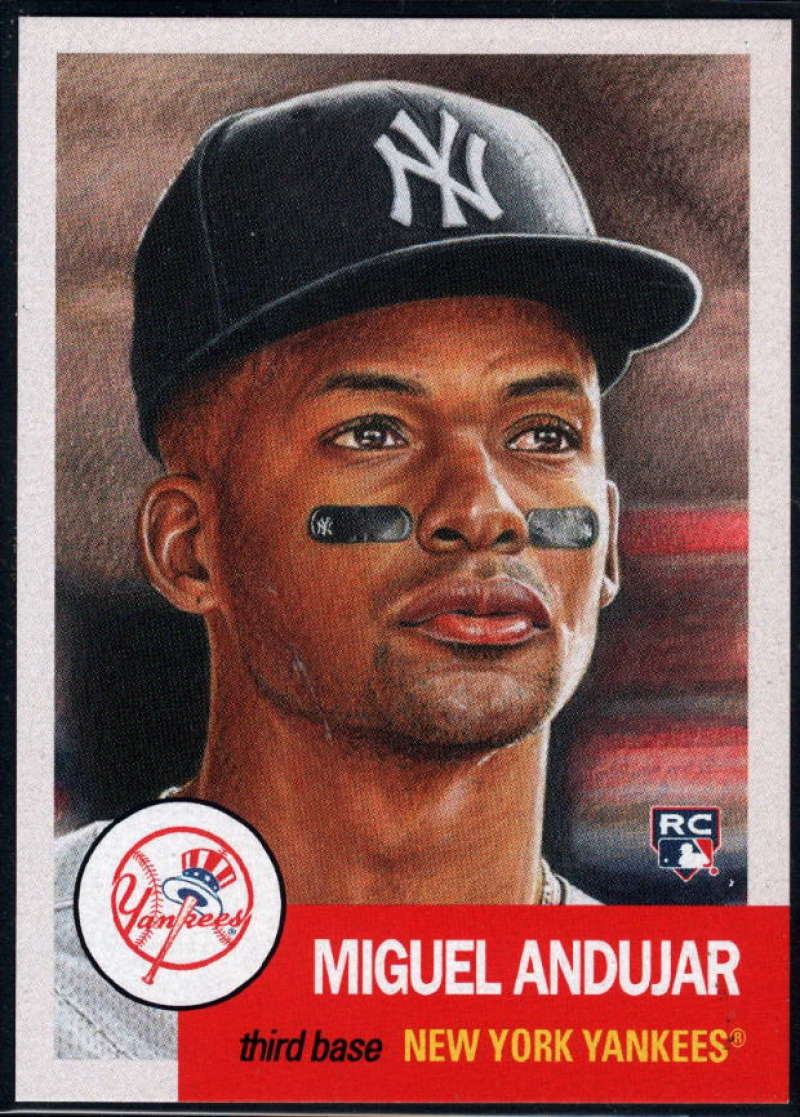 2018 Topps Living Set #49 Miguel Andujar RC Rookie New York Yankees �MLB Baseball Trading Card