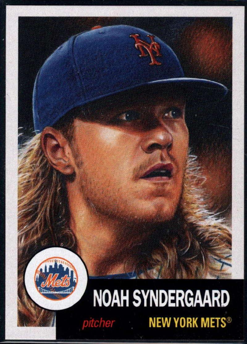 2018 Topps Living Set #50 Noah Syndergaard New York Mets �MLB Baseball Trading Card