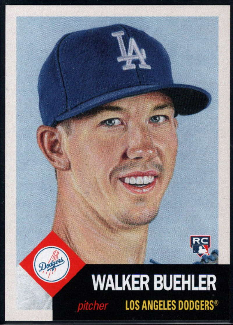 2018 Topps Living Set #53 Walker Buehler RC Rookie Los Angeles Dodgers �MLB Baseball Trading Card