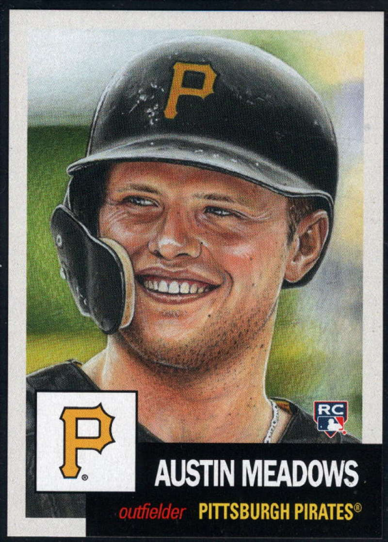 2018 Topps The Living Set #63 Austin Meadows Pittsburgh Pirates Online Exclusive Baseball Trading Card SOLD OUT at Topps