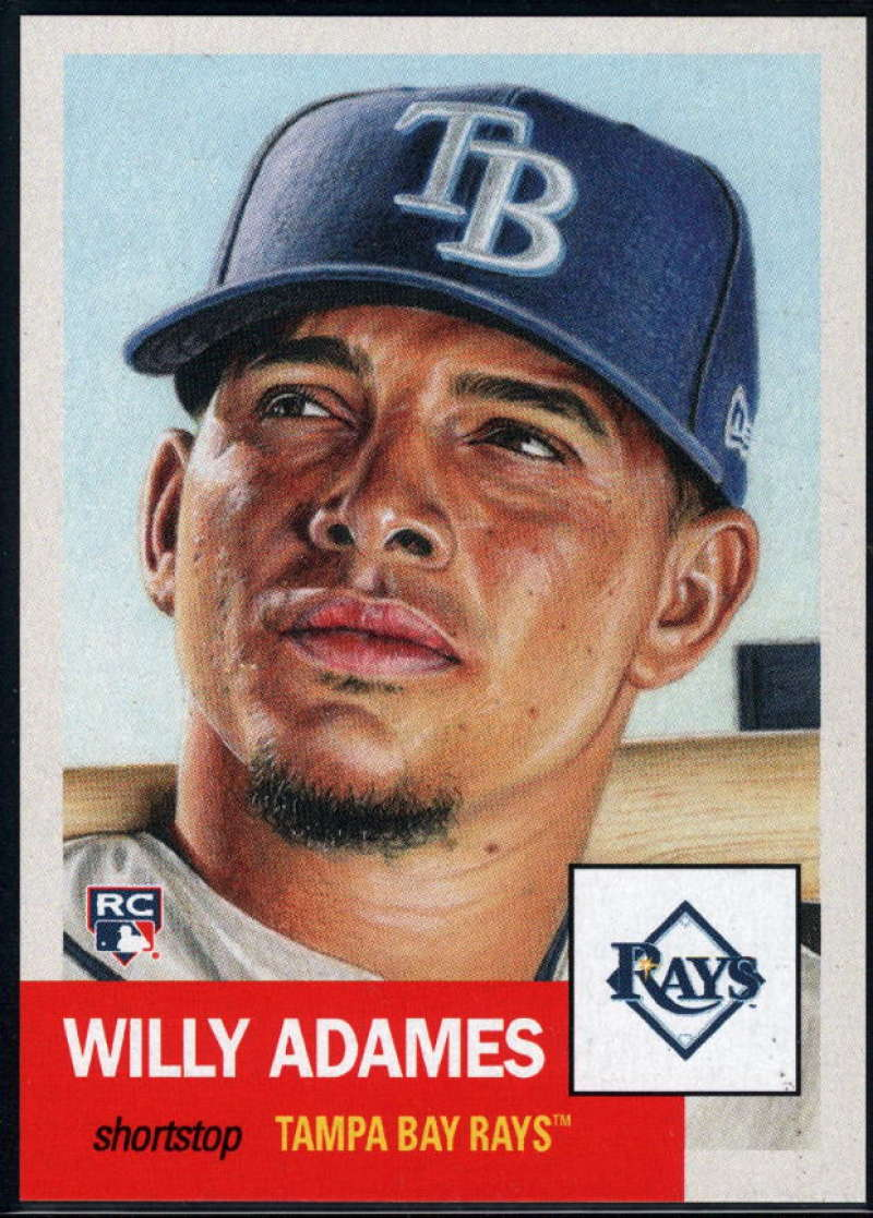 2018 Topps The Living Set #69 Willy Adames RC Rookie Tampa Bay Rays Online Exclusive Baseball Trading Card SOLD OUT at T