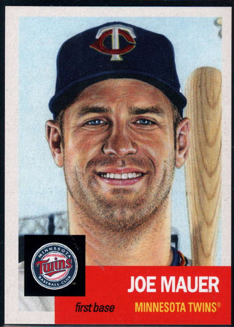 2018 Topps The Living Set Baseball #75 Joe Mauer Minnesota Twins  Online Exclusive MLB Trading Card SOLD OUT at Topps