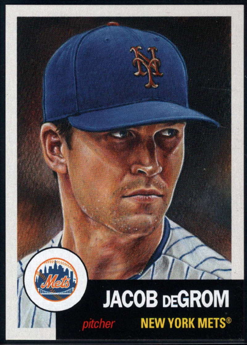 2018 Topps The Living Set Baseball #79 Jacob deGrom New York Mets  Online Exclusive MLB Trading Card SOLD OUT at Topps