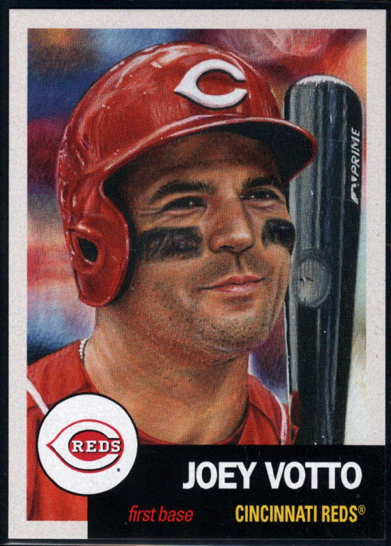 2018 Topps The Living Set Baseball #82 Joey Votto Cincinnati Reds  Online Exclusive MLB Trading Card SOLD OUT at Topps