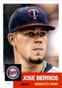 2018 Topps Living Set #27 Jose Berrios Minnesota Twins MLB Baseball Trading Card