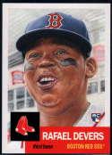 2018 Topps Living Set #29 Rafael Devers RC Rookie Boston Red Sox MLB Baseball Trading Card