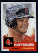2018 Topps The Living Set #62 Andrew Benintendi Boston Red Sox Online Exclusive Baseball Trading Card SOLD OUT at Topps