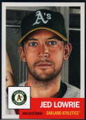 2018 Topps The Living Set Baseball #81 Jed Lowrie Oakland Athletics  Online Exclusive MLB Trading Card SOLD OUT at Topps