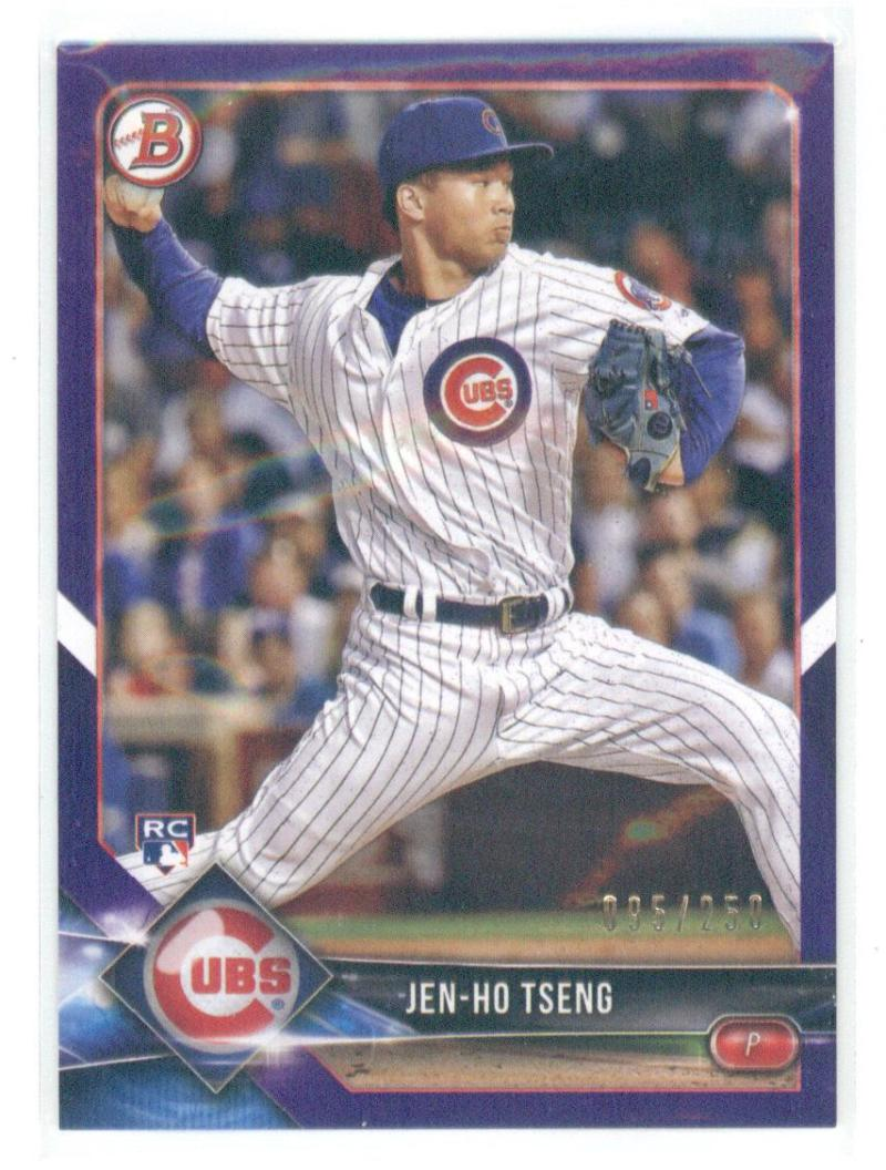 2018 Bowman  Purple