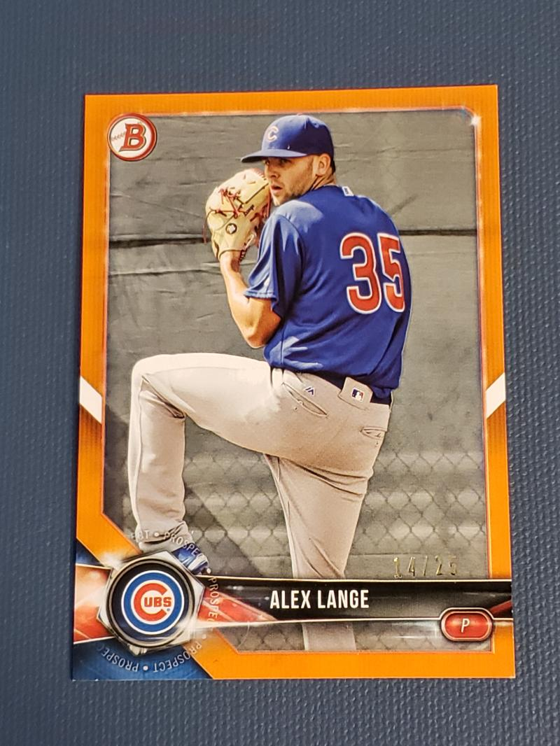 2018 Bowman  Prospects Orange