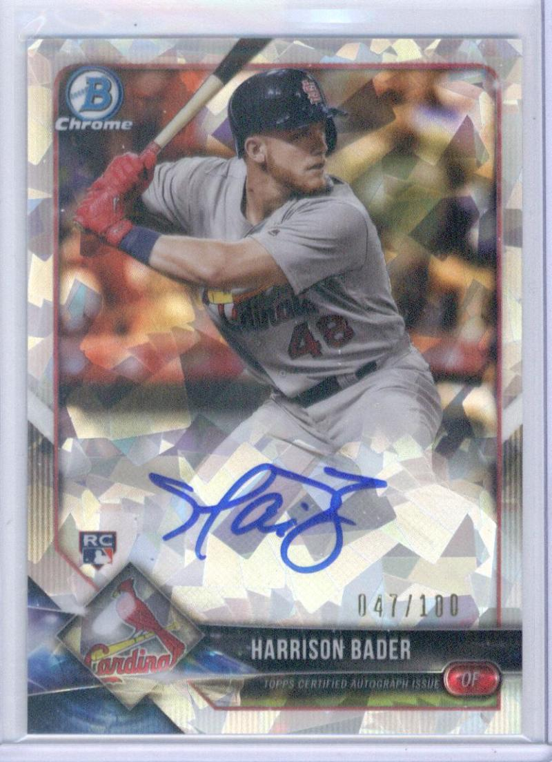 2018 Bowman  Chrome Rookie Autographs Refractors Atomic