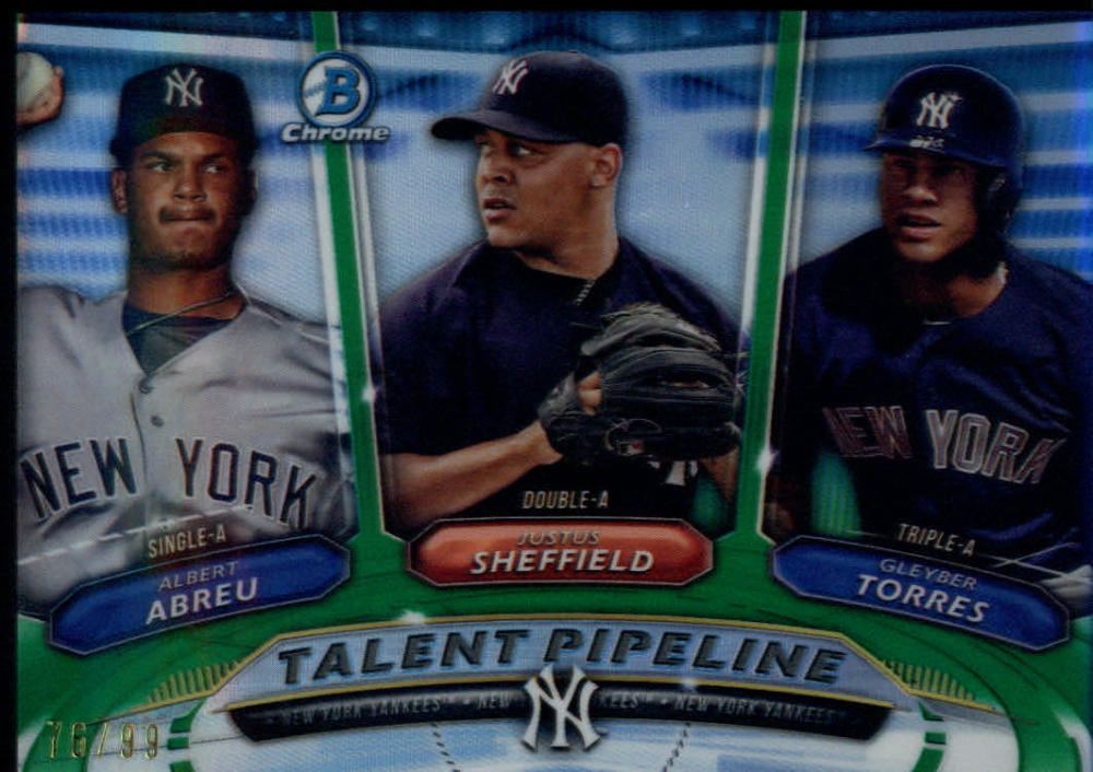2018 Bowman  Talent Pipeline Green