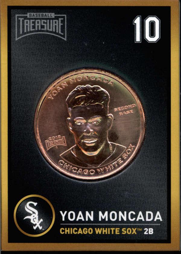 2018 Baseball Treasure MLB Coins  Copper