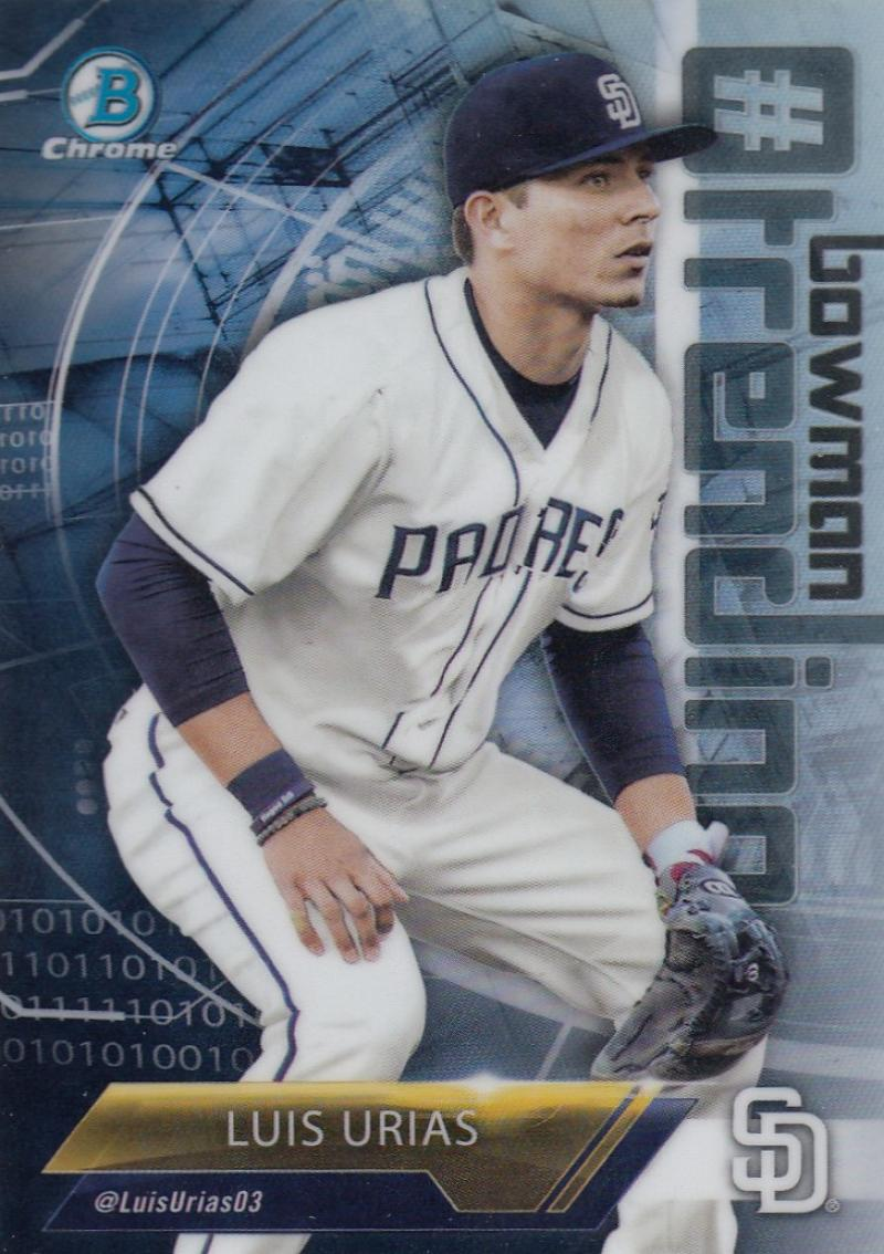2018 Bowman Mega Box Chrome # Bowman Trending