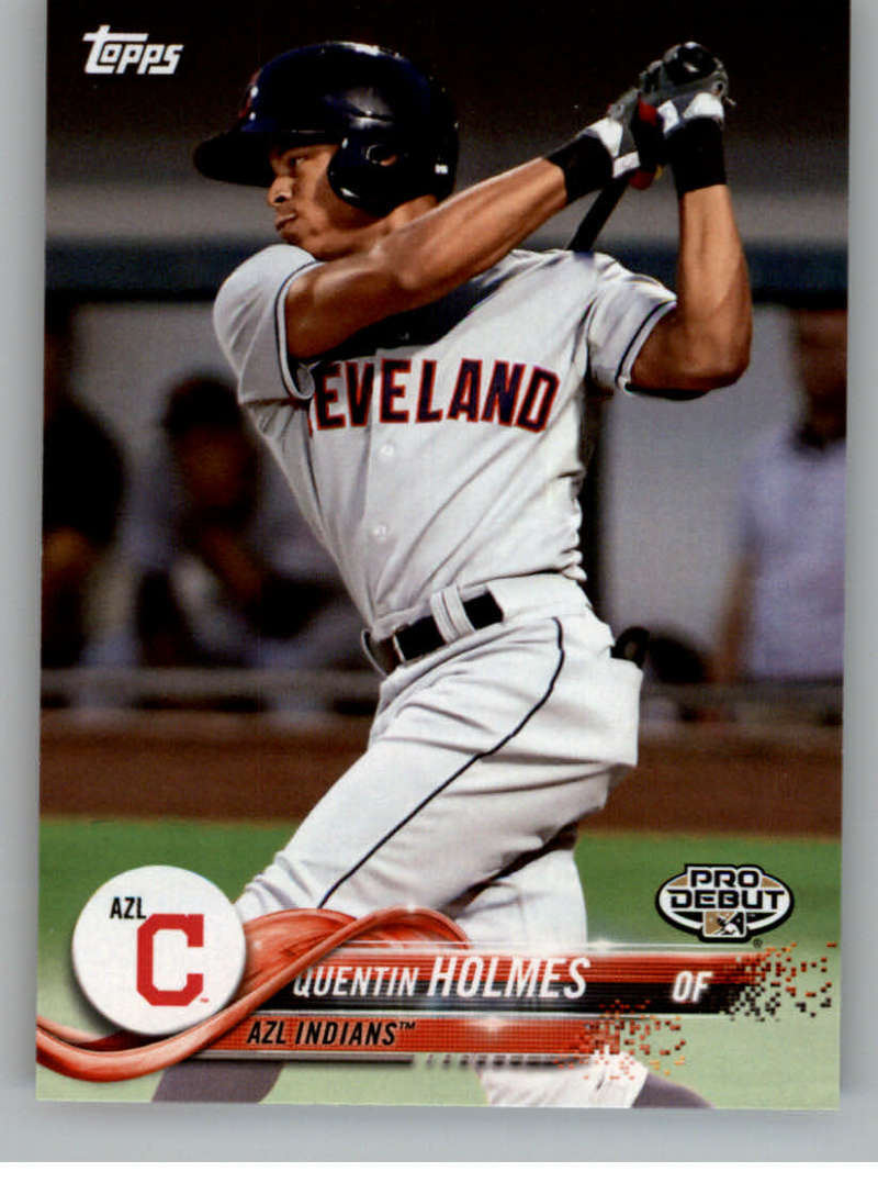 2018 Topps Pro Debut #108 Quentin Holmes AZL Indians NM-MT