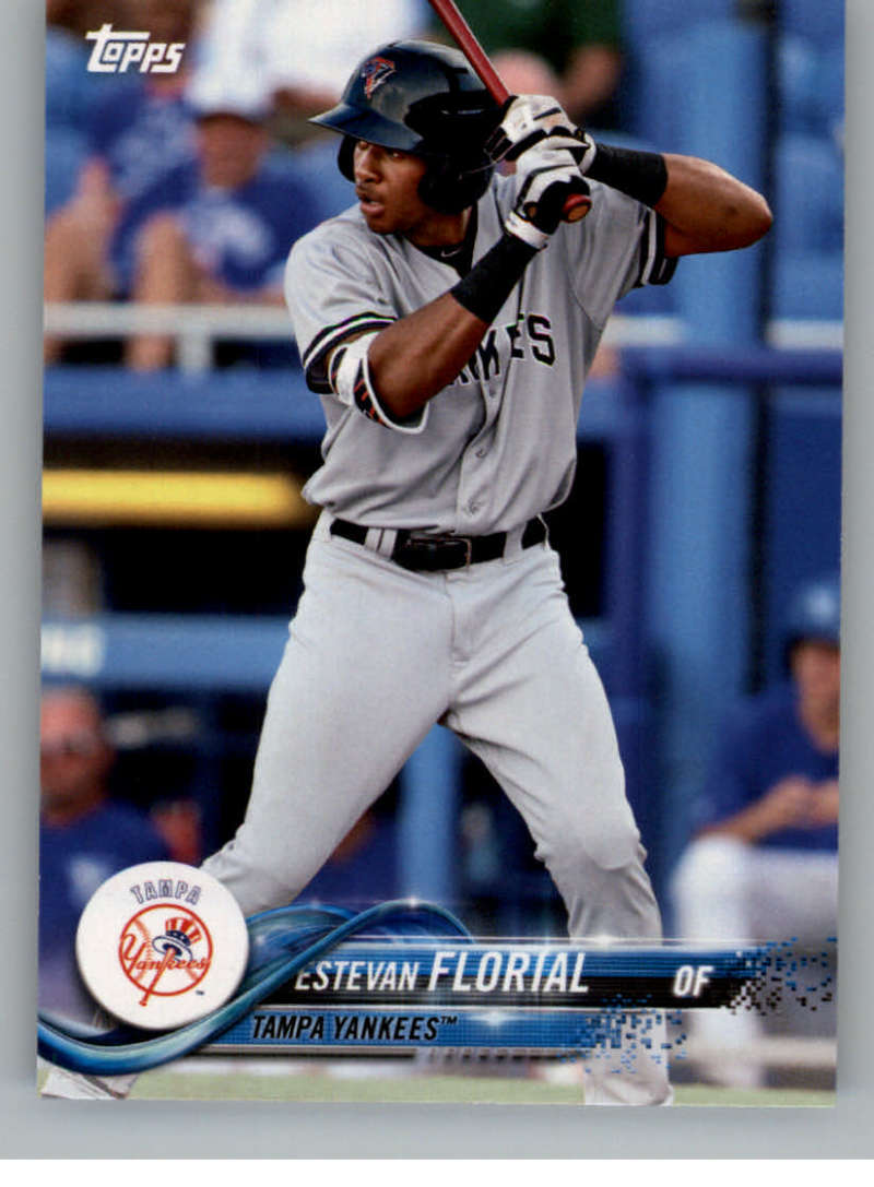 2018 Topps Pro Debut Minor League Baseball Trading Card #187 Estevan Florial Tampa Yankees