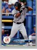 2018 Topps Pro Debut Minor League Baseball Trading Card #187 Estevan Florial Tampa Yankees