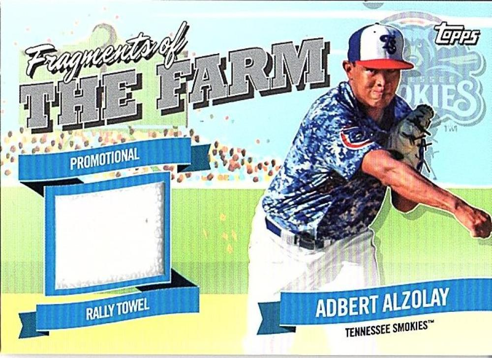 2018 Topps Pro Debut Fragments of the Farm Relics