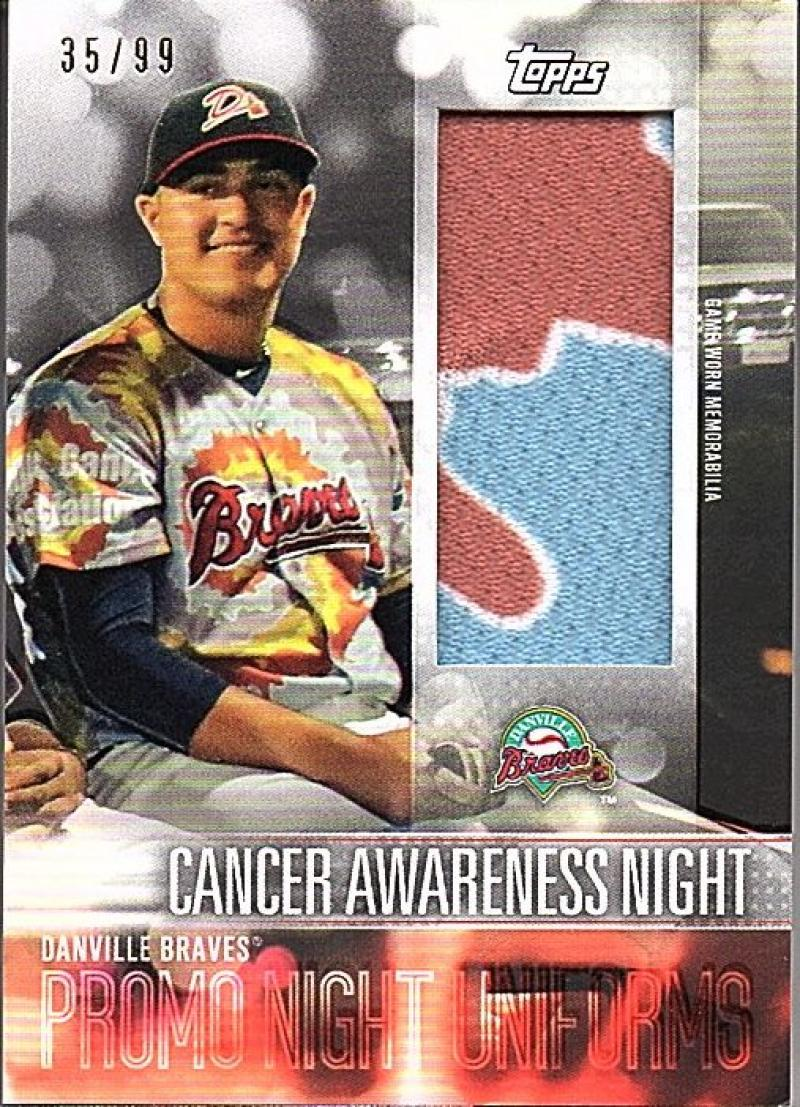 2018 Topps Pro Debut Promo Night Uniform Relics