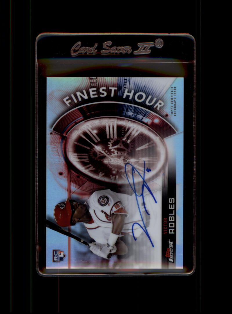 2018 Finest  Finest Hour Autographs