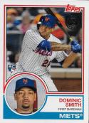 2018 Topps Series 2 Baseball '83 1983 Rookies #83-20 Dominic Smith New York Mets RC Rookie Card