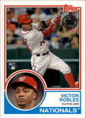 2018 Topps Series 2 Baseball '83 1983 Rookies #83-21 Victor Robles Washington Nationals RC Rookie Card