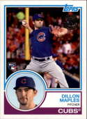 2018 Topps Series 2 Baseball '83 1983 Rookies #83-22 Dillon Maples Chicago Cubs RC Rookie Card